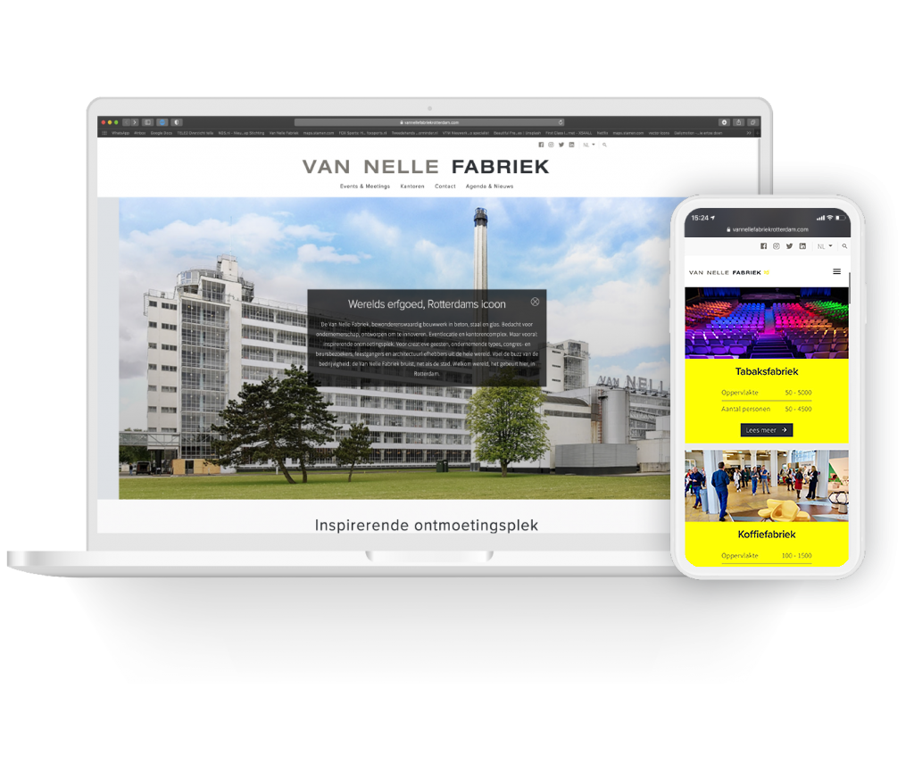 van nelle fabriek mobile first 2